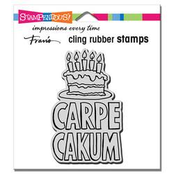 Stampendous leimasin Carpe Cakum