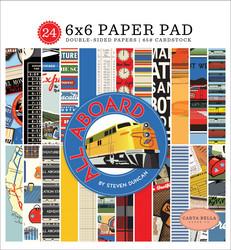 Carta Bella All Aboard -paperipakkaus
