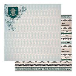 Couture Creations skräppipaperi Gentleman's Emporium #05