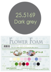 Leane Creatief Flower Foam -softislevy kukkien tekoon, dark grey