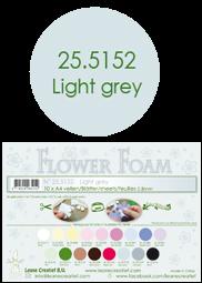 Leane Creatief Flower Foam -softislevy kukkien tekoon, light grey