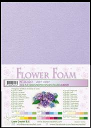Leane Creatief Flower Foam -softislevy kukkien tekoon, light violet