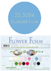 Leane Creatief Flower Foam -softislevy kukkien tekoon, bluebell blue