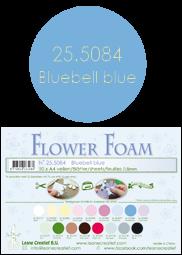 Leane Creatief Flower Foam -softislevy kukkien tekoon, bluebell blue