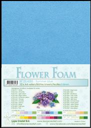 Leane Creatief Flower Foam -softislevy kukkien tekoon, summer blue