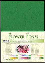 Leane Creatief Flower Foam -softislevy kukkien tekoon, moss green