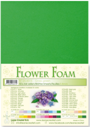 Leane Creatief Flower Foam -softislevy kukkien tekoon, grass green