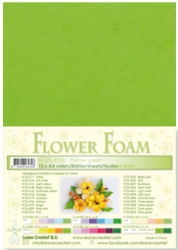 Leane Creatief Flower Foam -softislevy kukkien tekoon, yellow green