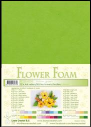 Leane Creatief Flower Foam -softislevy kukkien tekoon, yellow green