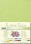 Leane Creatief Flower Foam -softislevy kukkien tekoon, pastel green