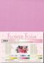 Leane Creatief Flower Foam -softislevy kukkien tekoon, pink