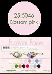 Leane Creatief Flower Foam -softislevy kukkien tekoon, blossom pink