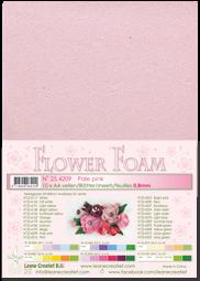 Leane Creatief Flower Foam -softislevy kukkien tekoon, pale pink