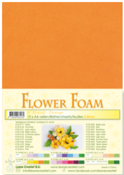 Leane Creatief Flower Foam -softislevy kukkien tekoon, orange