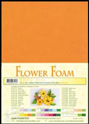 Leane Creatief Flower Foam -softislevy kukkien tekoon, orange