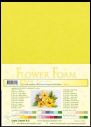 Leane Creatief Flower Foam -softislevy kukkien tekoon, bright yellow