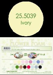Leane Creatief Flower Foam -softislevy kukkien tekoon, ivory