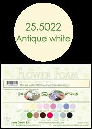 Leane Creatief Flower Foam -softislevy kukkien tekoon, antique white