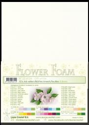 Leane Creatief Flower Foam -softislevy kukkien tekoon, off-white