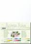 Leane Creatief Flower Foam -softislevy kukkien tekoon, white