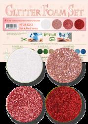 Leane Creatief Glitter Foam -softislevy, setti 4