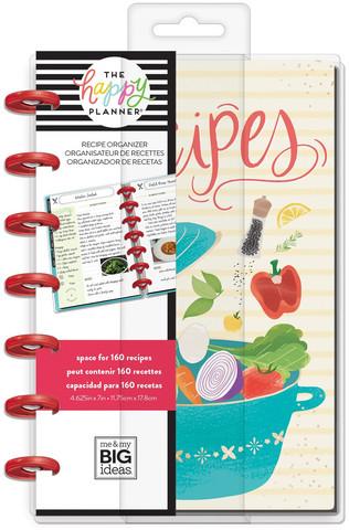 Mambi Happy Planner Foodie (Recipe Organizer) -reseptikirja, MINI
