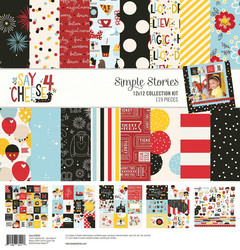 Simple Stories Say Cheese 4 Collection Kit -paperipakkaus, 12