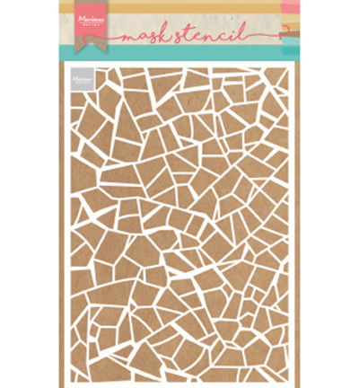 Marianne Design sapluuna Broken Tiles