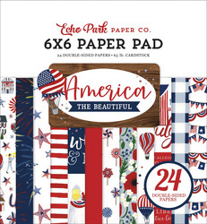 Echo Park America The Beautiful -paperipakkaus