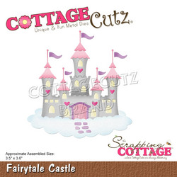 CottageCutz stanssi Fairytale Castle