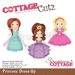 CottageCutz stanssi Princess Dress-Up
