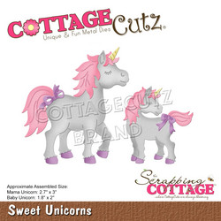 CottageCutz stanssi Sweet Unicorns