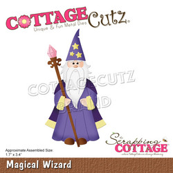 CottageCutz stanssi Magical Wizard