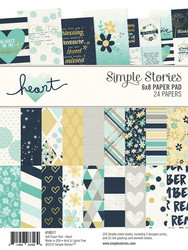Simple Stories Heart -paperipakkaus