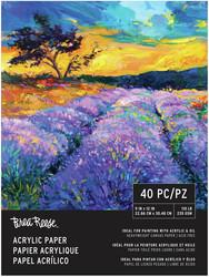Brea Reese Acrylic Paper -paperipakkaus, 40 arkkia, 235 gsm