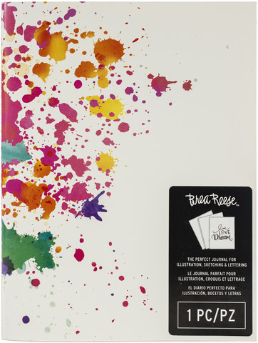 Brea Reese Journal Paint Splash -vihko
