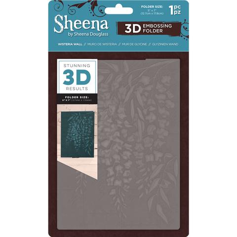 Sheena Douglass 3D kohokuviointikansio Wisteria Wall