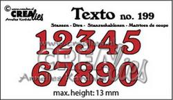 Crealies stanssisetti Numbers medium