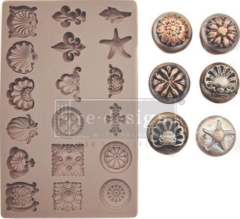 Prima Finnabair Decor Mould -muotti Seashore Treasures