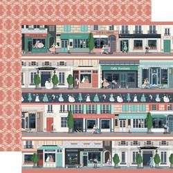 Carta Bella En Vogue skräppipaperi Border Strips