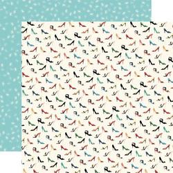 Carta Bella En Vogue skräppipaperi High Heels
