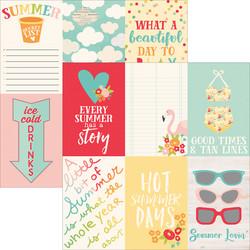 Simple Stories Summer Days skräppipaperi 4