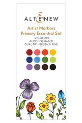 Altenew Artist Markers -setti Primary Essential, alkoholitussit