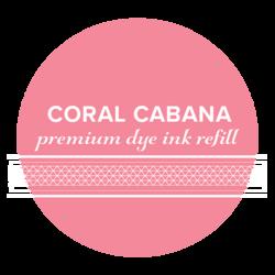 Catherine Pooler Premium Dye Ink -täyttöpullo, sävy Coral Cabana