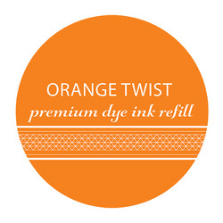 Catherine Pooler Premium Dye Ink -täyttöpullo, sävy Orange Twist