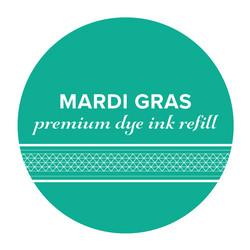 Catherine Pooler Premium Dye Ink -täyttöpullo, sävy Mardi Gras