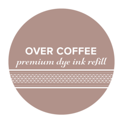 Catherine Pooler Premium Dye Ink -täyttöpullo, sävy Over Coffee