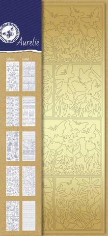 Aurelie ääriviivatarra-setti Spring, 10 kpl