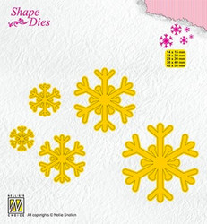 Nellie's Choice stanssisetti Snowflakes