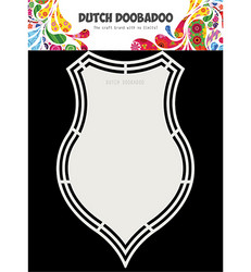 Dutch DooBaDoo Shape Art Shield -sapluuna